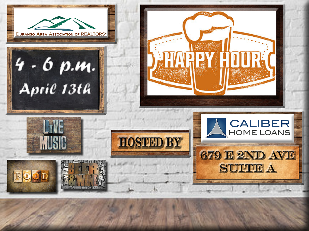 DAAR & Caliber Homes Loans Happy Hour 4-13-17